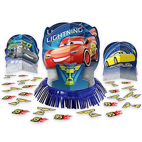Cars 3 Table Decorating Kit
