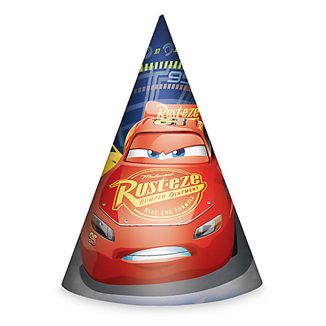 Cars 3 Party Hats