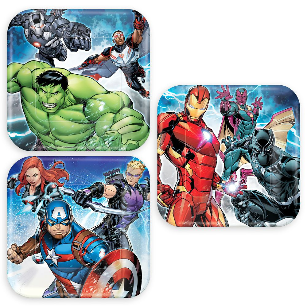 Avengers Dessert Plates Official shopDisney