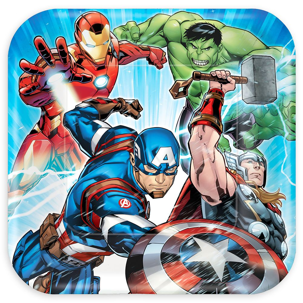 Avengers Lunch Plates Official shopDisney