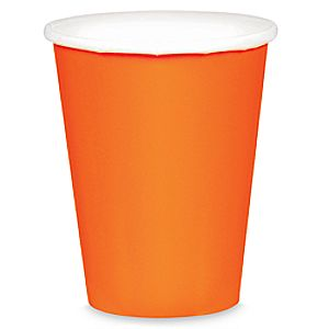 Orange Paper Cups 6804057862143P