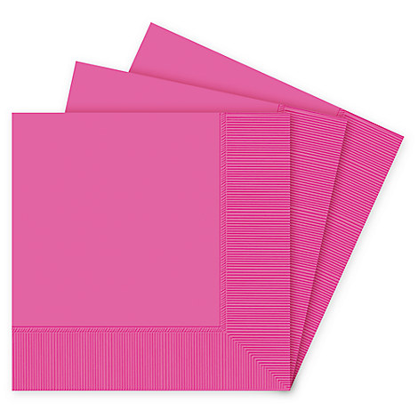 Dark Pink Lunch Napkins