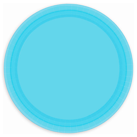 Light Blue Lunch Plates