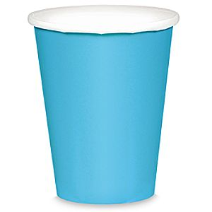 Light Blue Paper Cups 6804057862159P