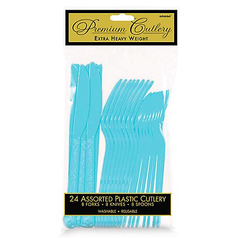 Light Blue Cutlery Set - 2 Pack