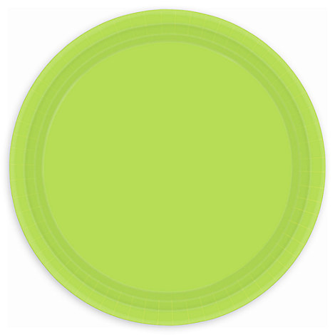 Green Lunch Plates