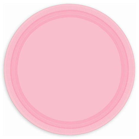 Light Pink Lunch Plates