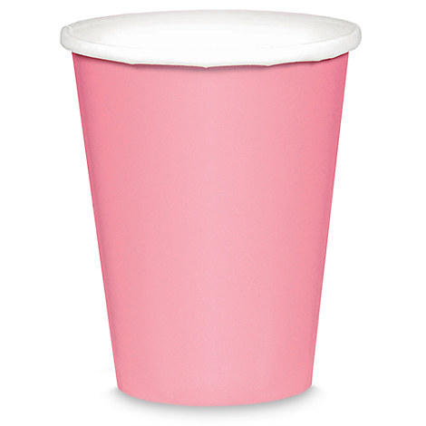 Light Pink Paper Cups