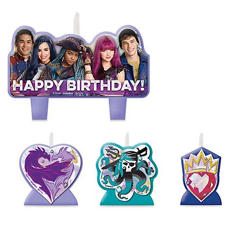 Descendants 2 Birthday Candle Set