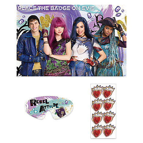 Descendants 2 Party Game