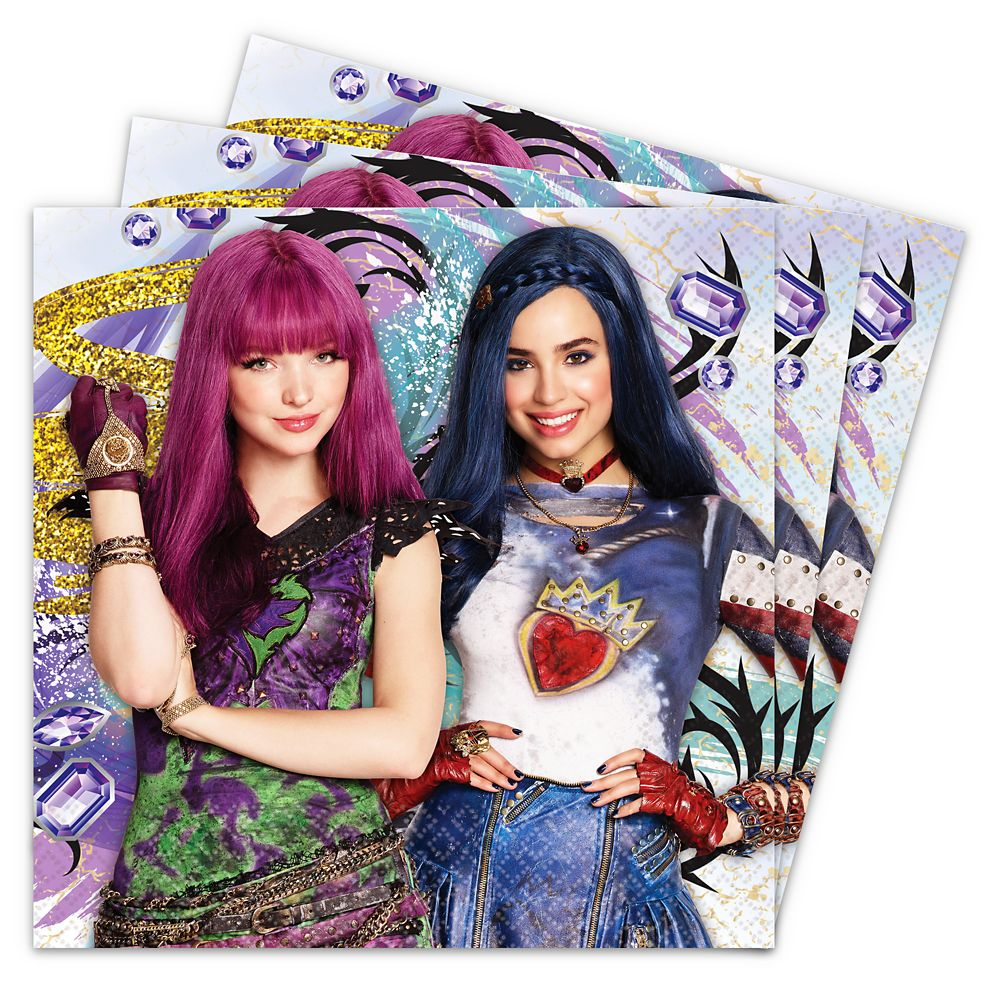Descendants 2 Lunch Napkins – 2-Pack