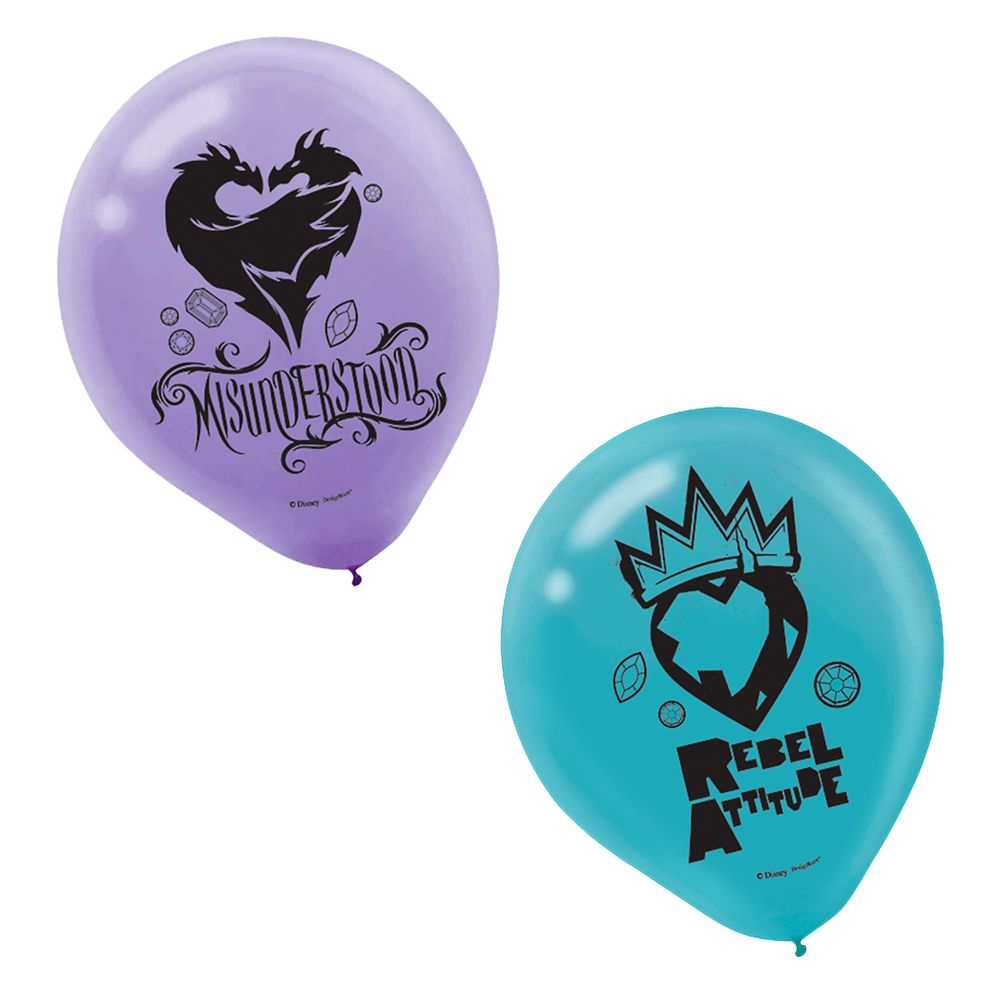 Decendants 2 Balloons – 12'' – 2-Pack