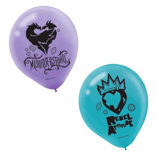Decendants 2 Balloons – 12'' – 2-Pack