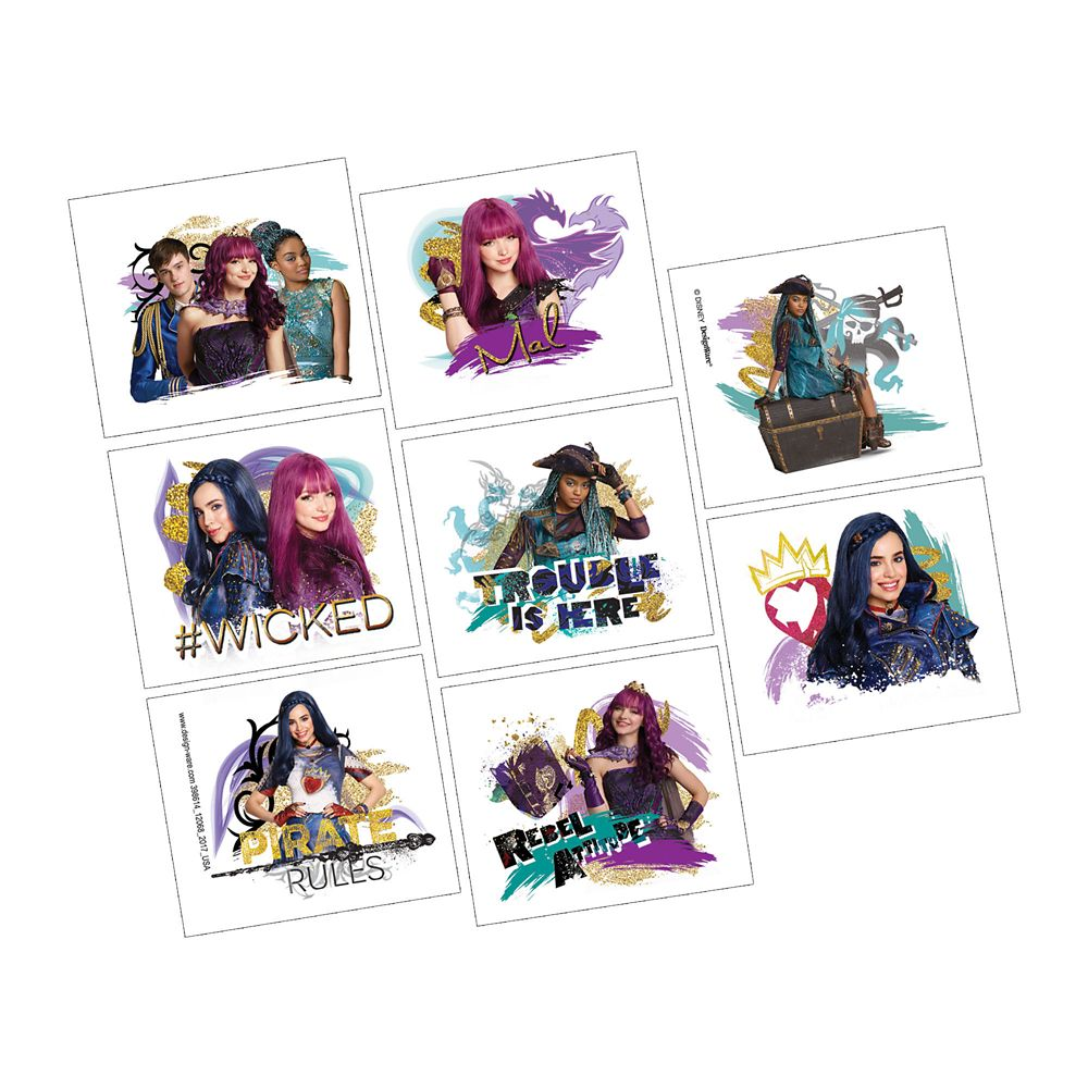 Descendants 2 Tattoos – 2-Pack