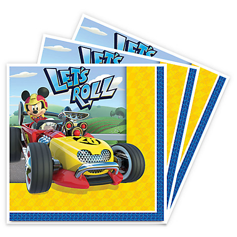 Mickey Mouse Roadster Racers Beverage Napkins