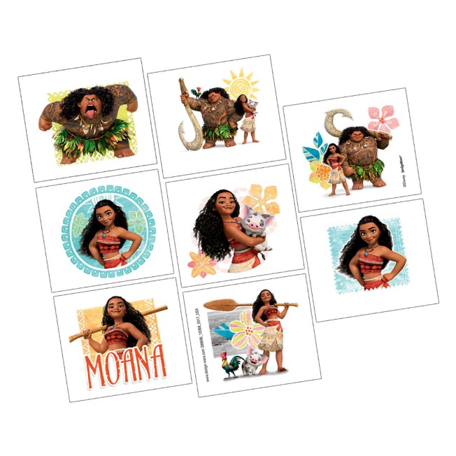 Moana Tattoos – 2-Pack
