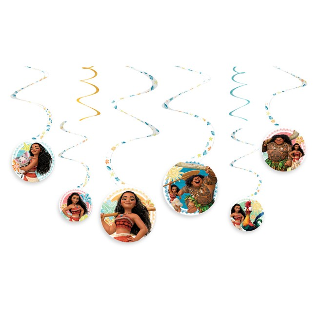 Moana Swirl Party Decorations – 2-Pack