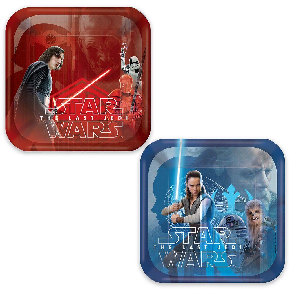 Star Wars: The Last Jedi Dessert Paper Plates