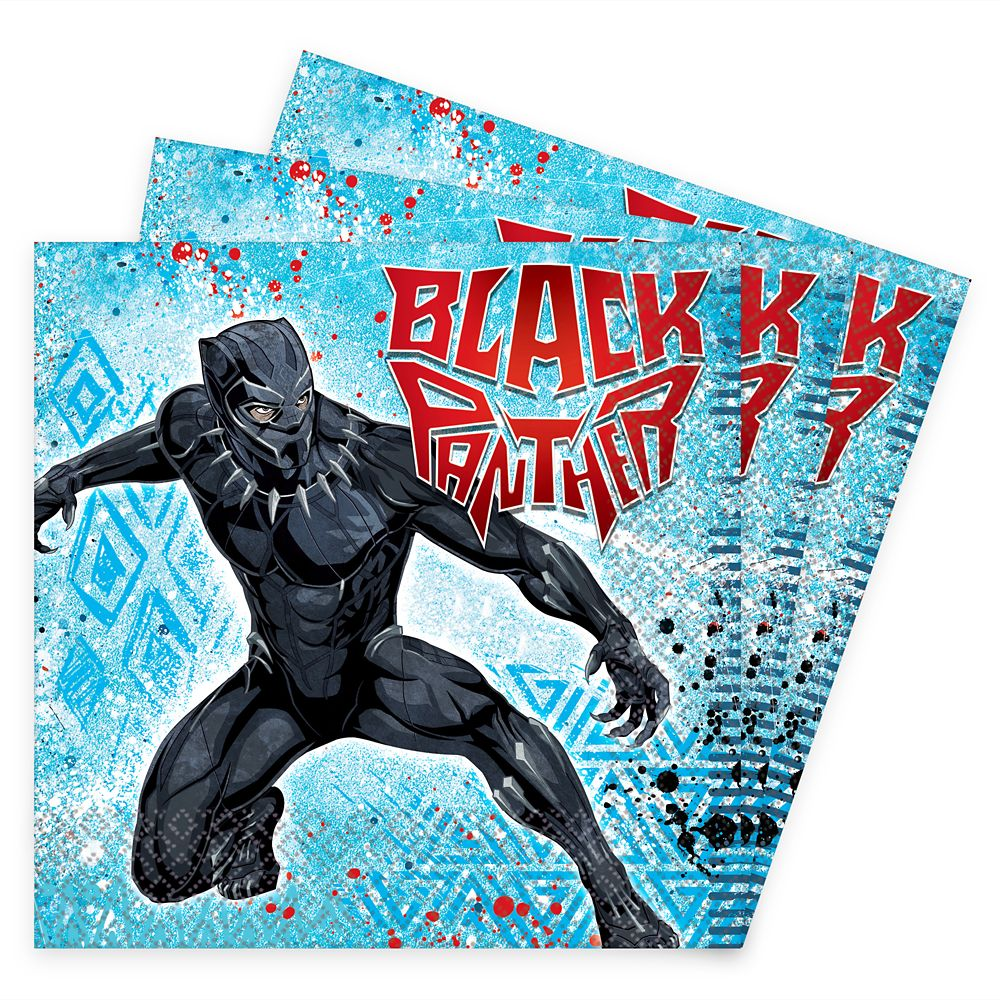 Black Panther Lunch Napkins