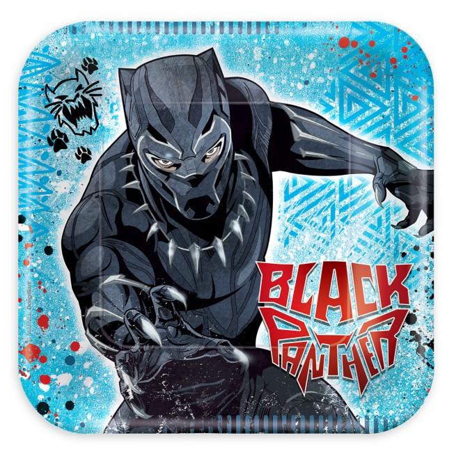 Black Panther Dessert Plates