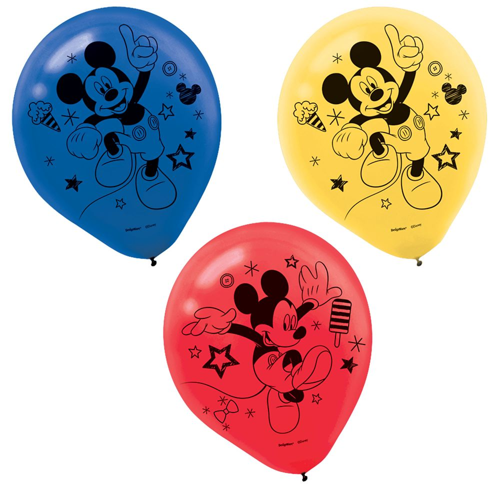 Mickey Mouse On the Go Balloons