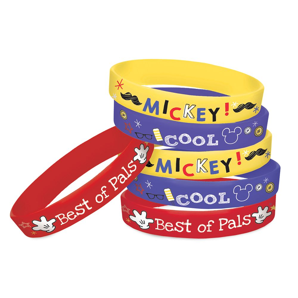 Mickey Mouse On the Go Wristbands Official shopDisney