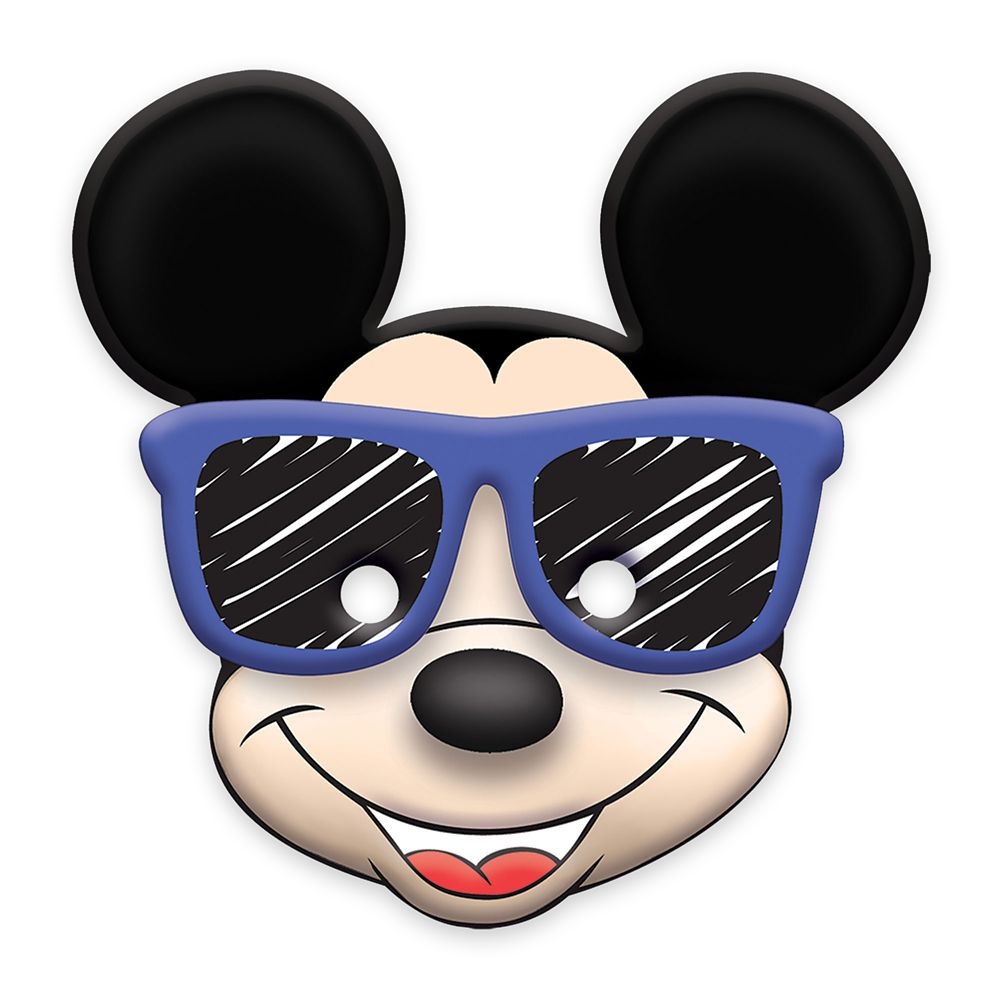 Mickey Mouse On the Go Paper Masks