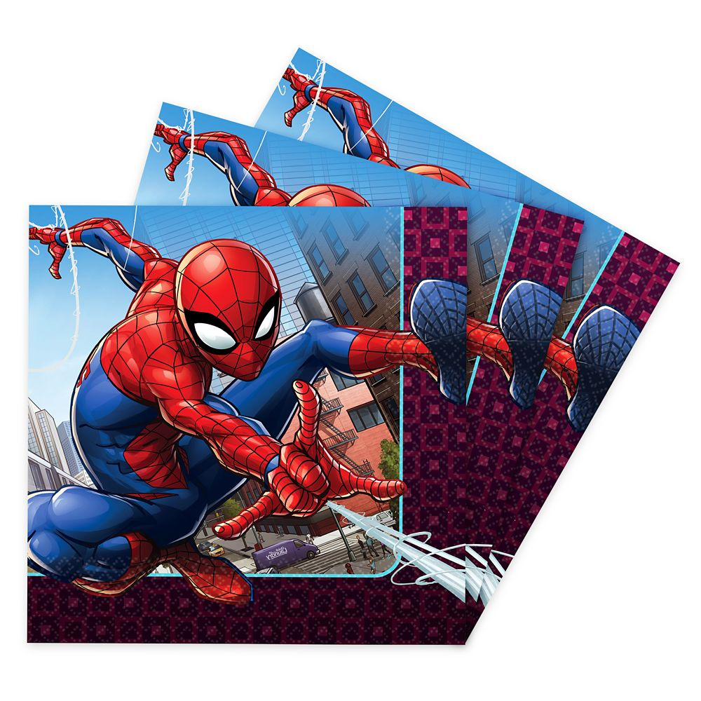 Spider-Man Webbed Wonder Lunch Napkins