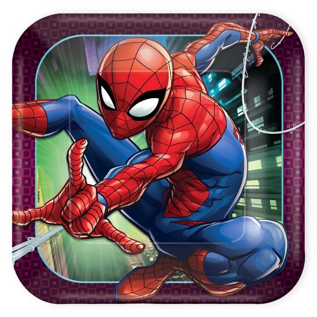 Spider-Man Webbed Wonder Lunch Plates