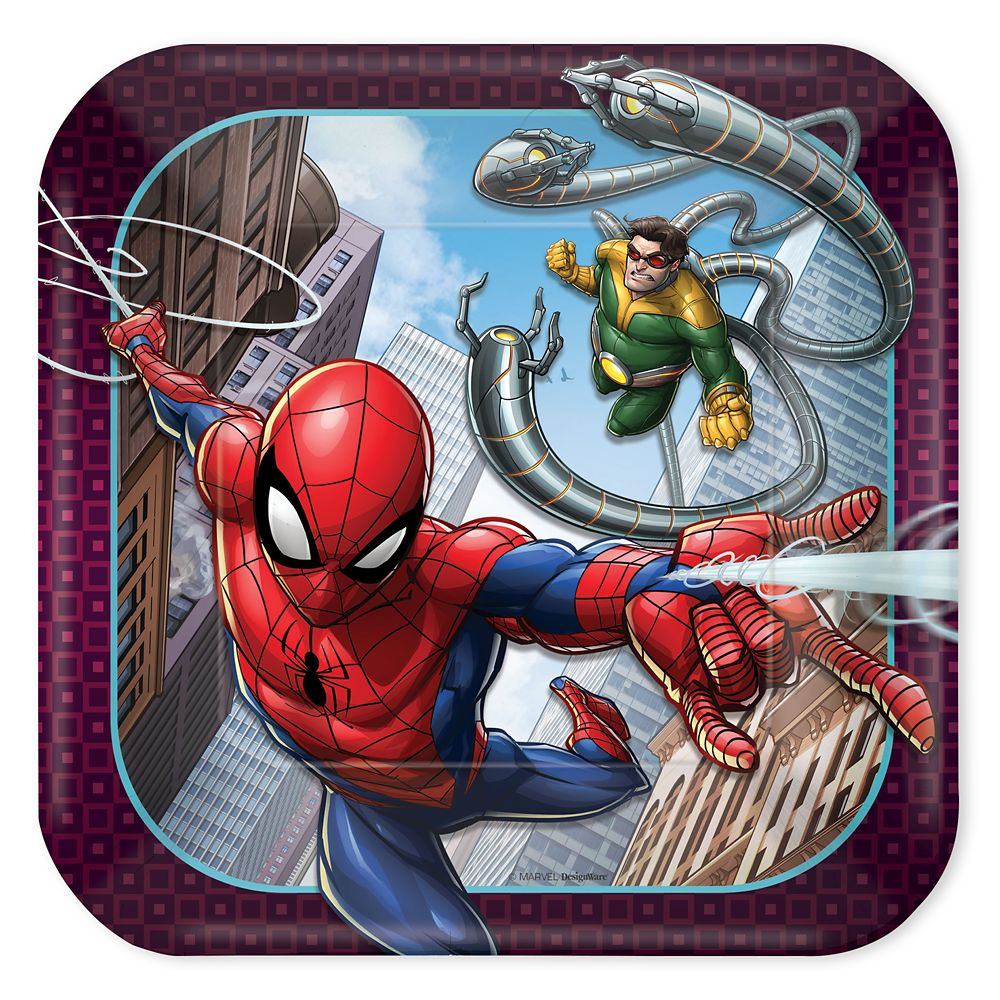 Spider-Man Webbed Wonder Dessert Plates Official shopDisney