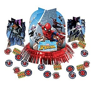 Spider-Man Webbed Wonder Table Decorating Kit 6804057862578P