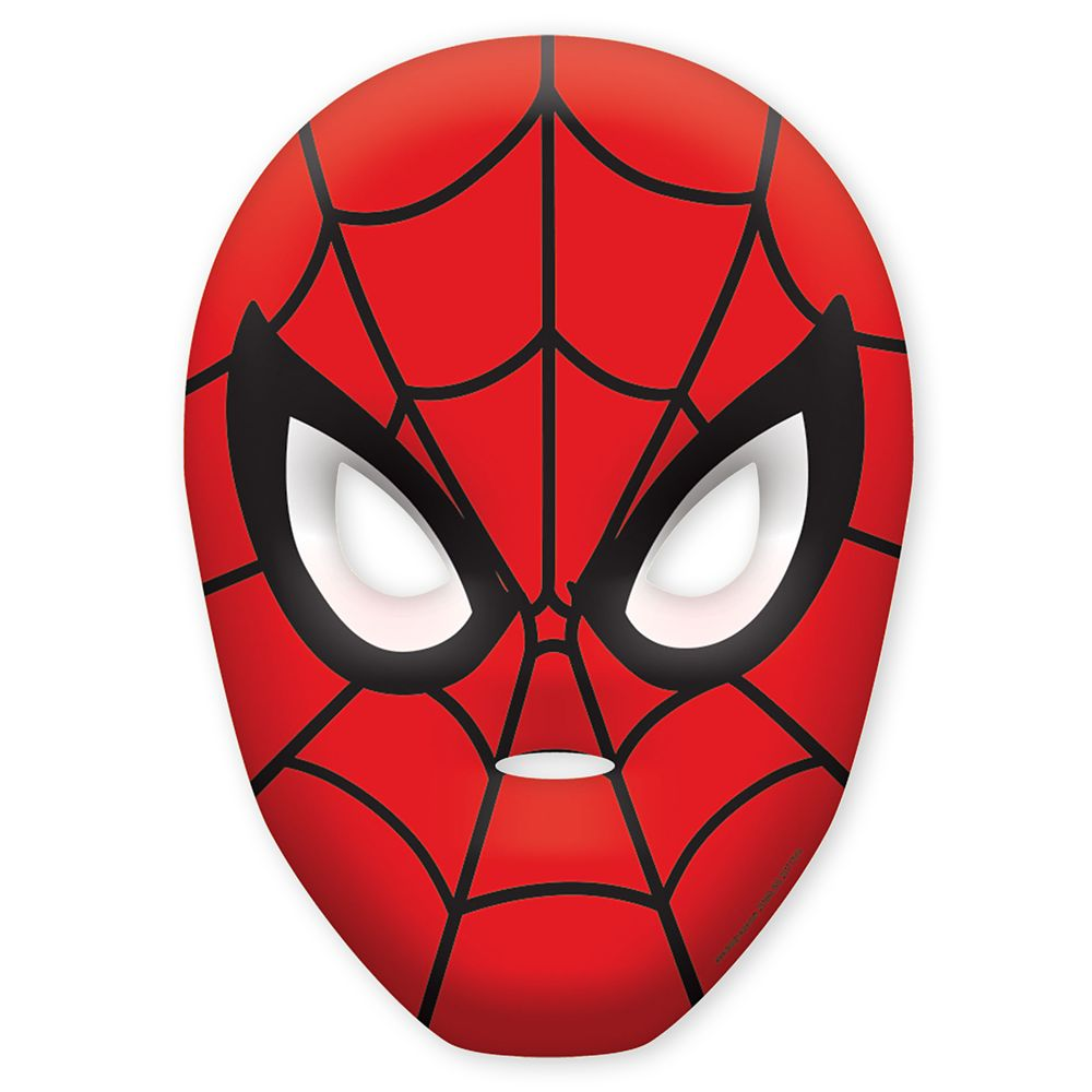Spider-Man Paper Masks