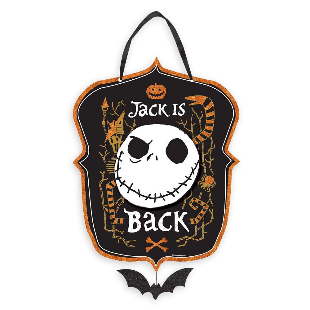 Jack Skellington Sign – The Nightmare Before Christmas