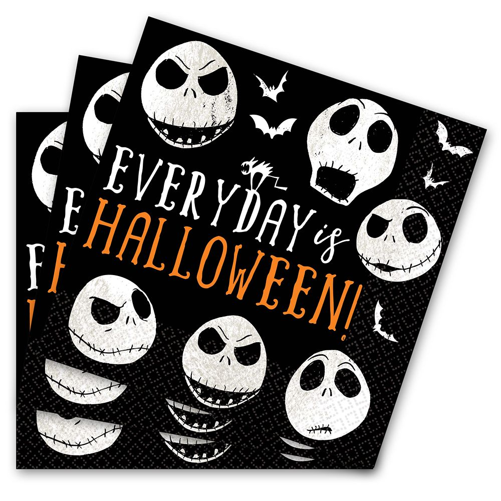Jack Skellington Lunch Napkins  The Nightmare Before Christmas Official shopDisney