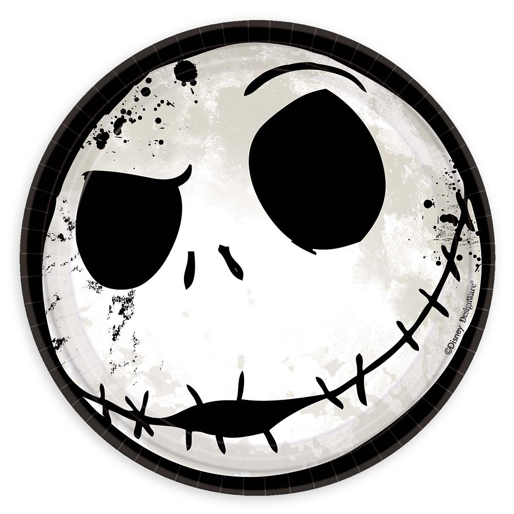 Jack Skellington Dessert Plates – The Nightmare Before Christmas