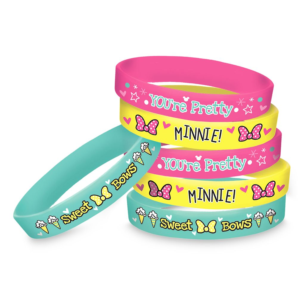 Minnie Mouse Wristbands