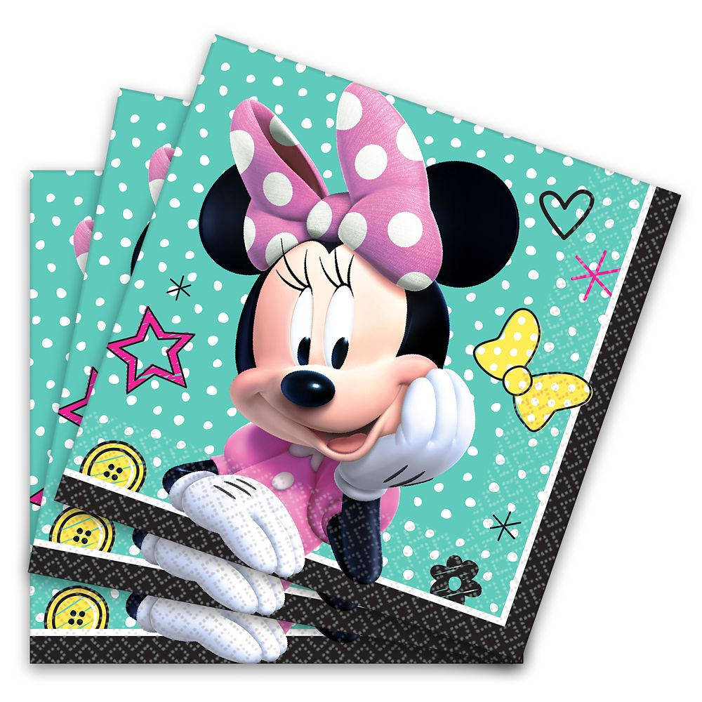 Minnie Mouse Beverage Napkins Official shopDisney