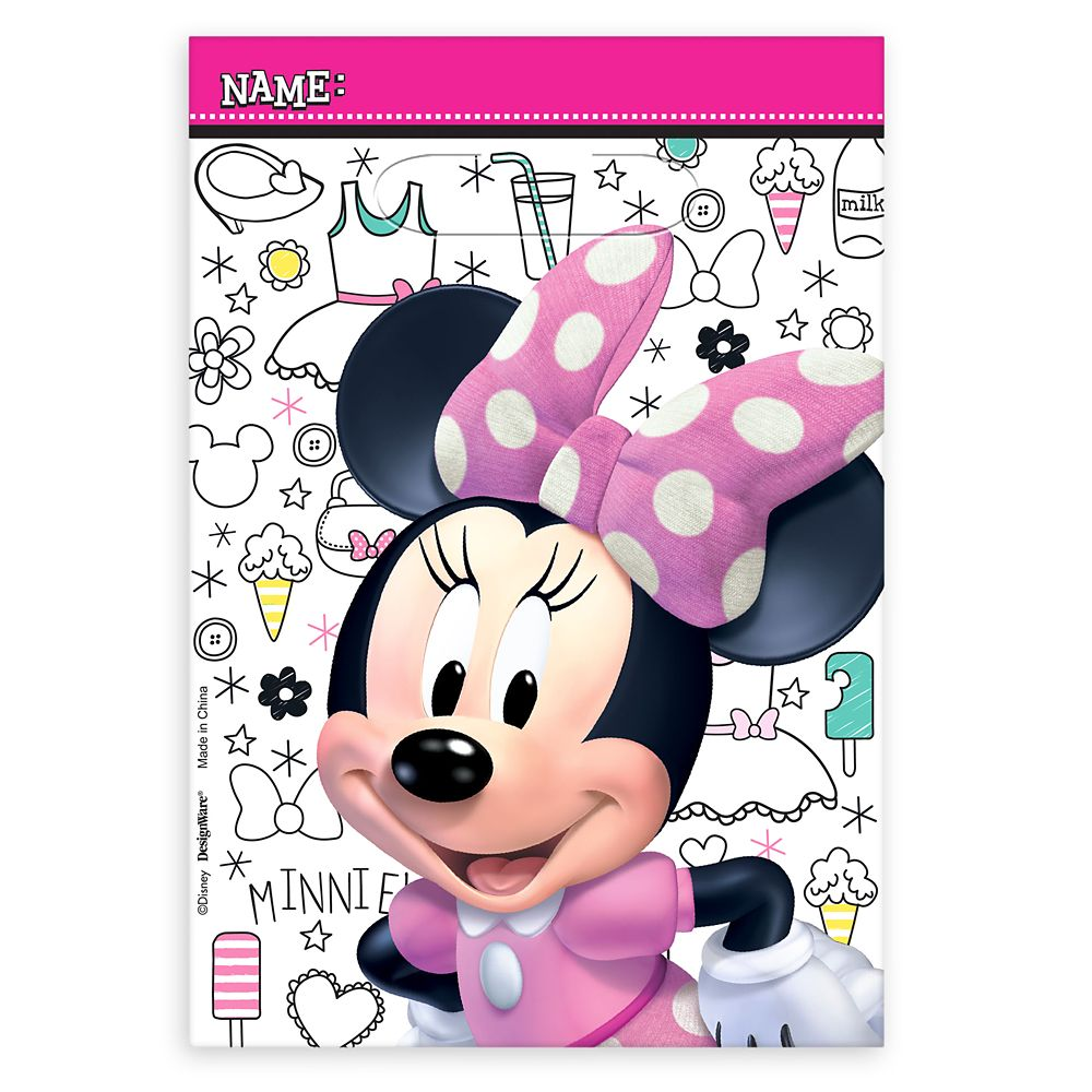 Minnie Mouse Favor Bags