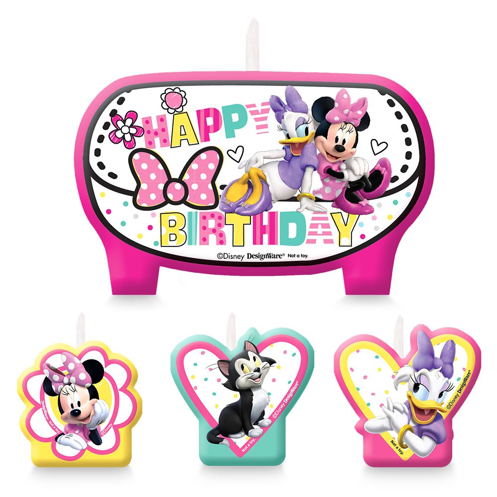 Minnie Mouse and Friends Birthday Candles Set