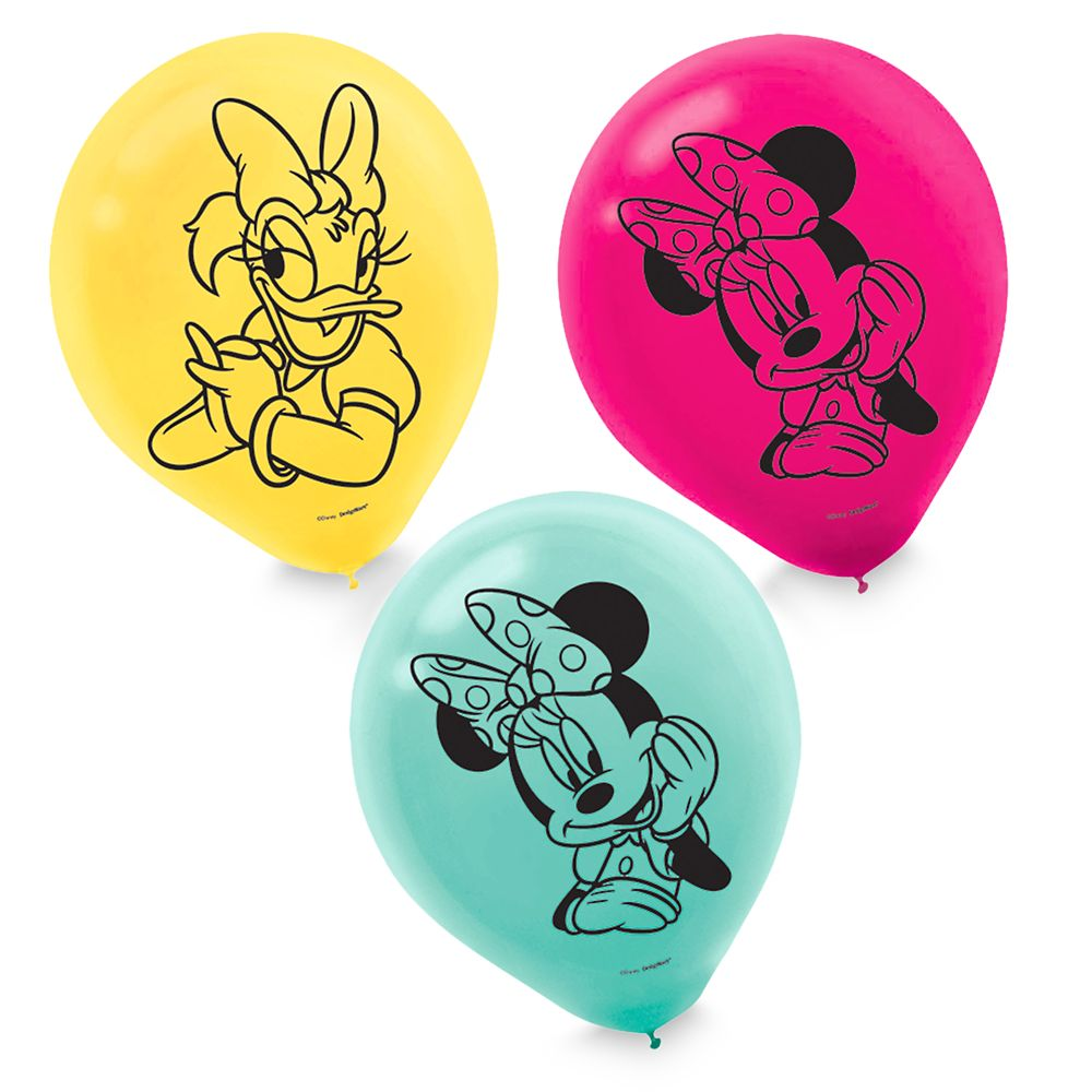 Minnie Mouse and Daisy Duck Balloons Set
