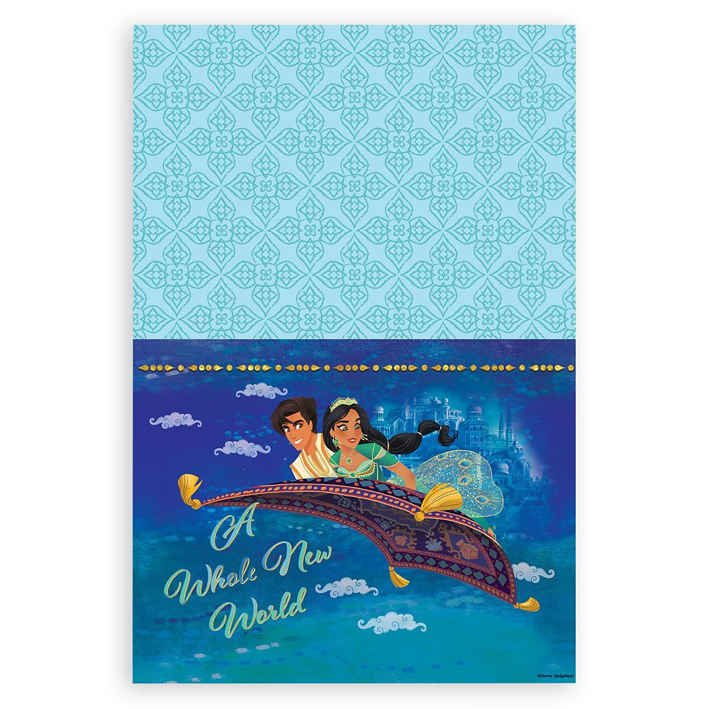 Aladdin Table Cover  Live Action Film Official shopDisney