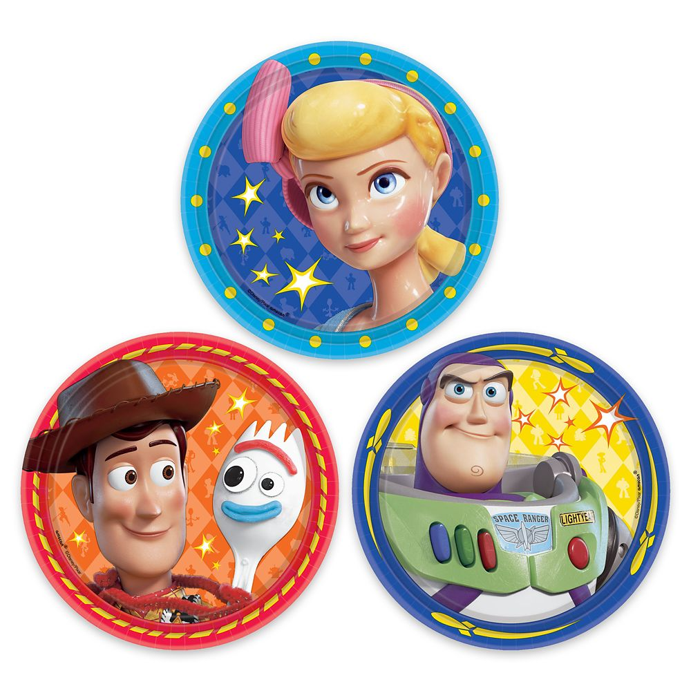 Toy Story 4 Dessert Plates