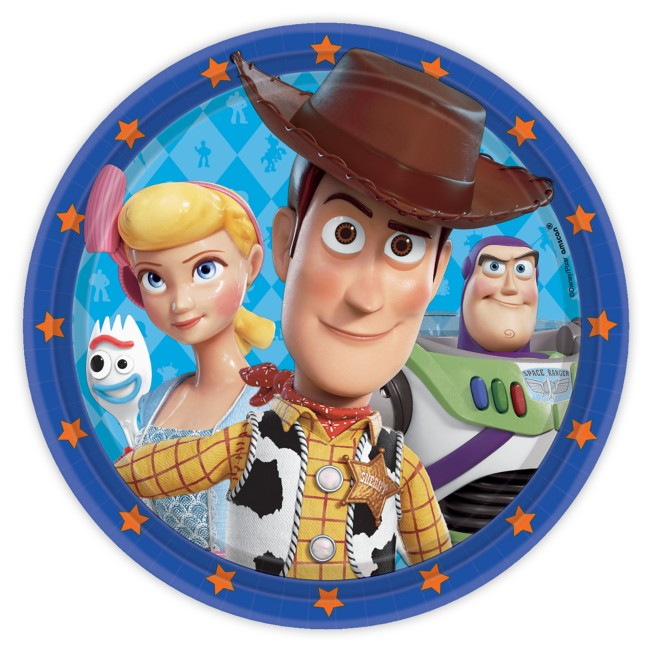Toy Story 4 Lunch Plates