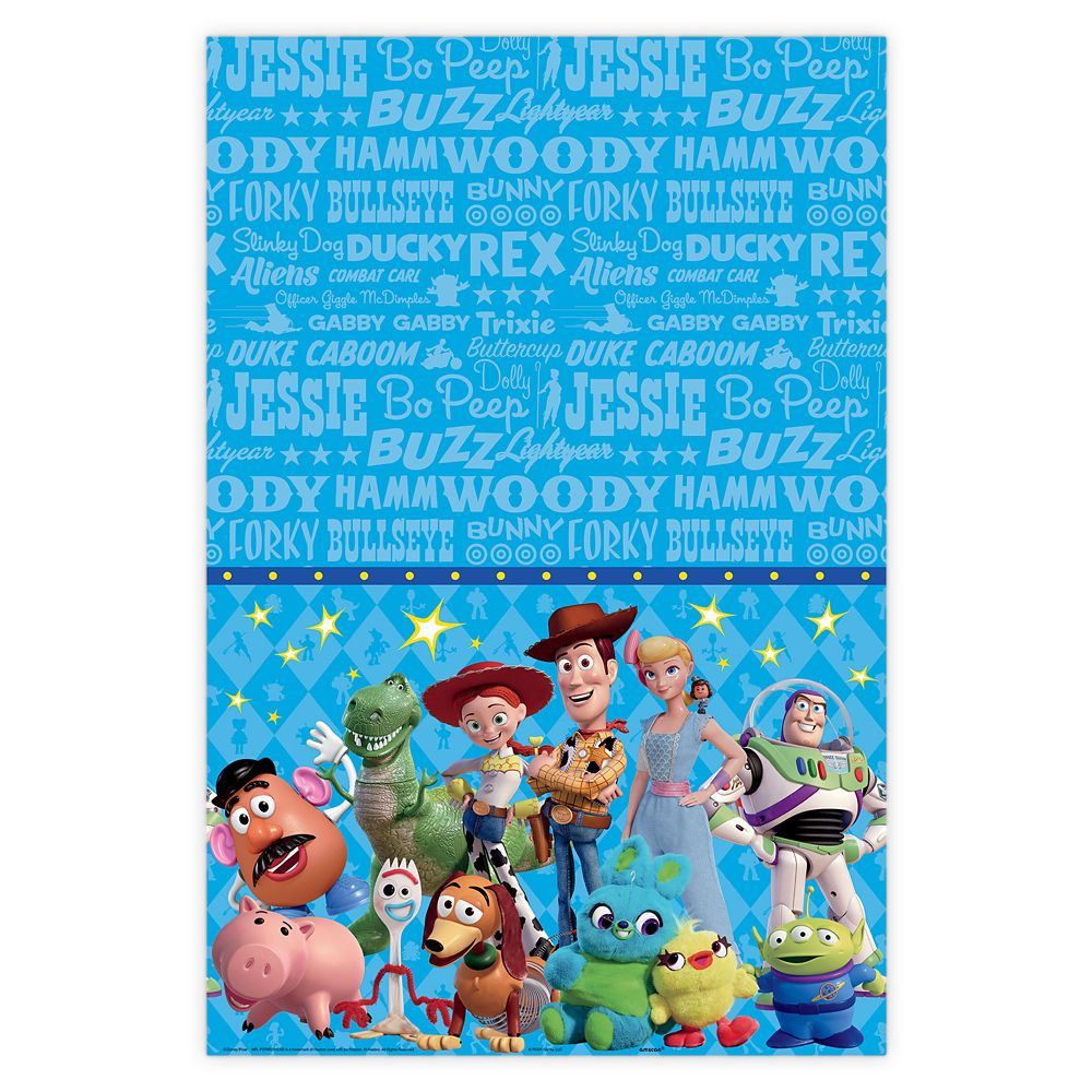 Toy Story 4 Table Cover
