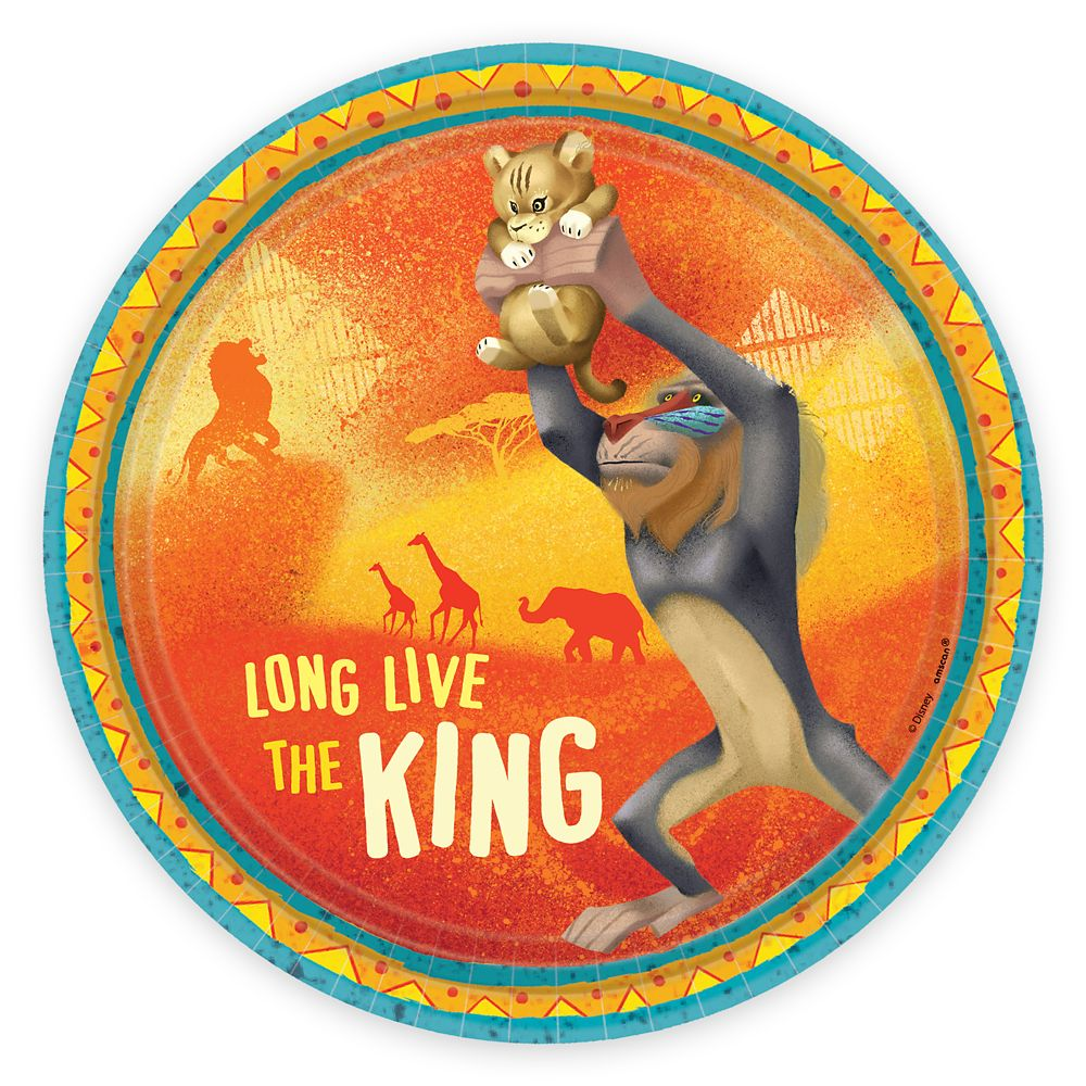 The Lion King 2019 Film Dessert Plates