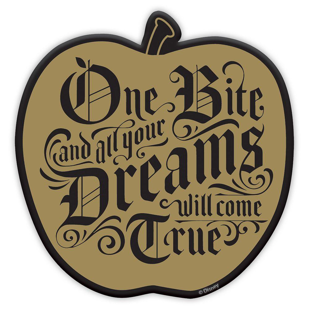 Disney Villains Halloween Coasters - Poisoned Apple