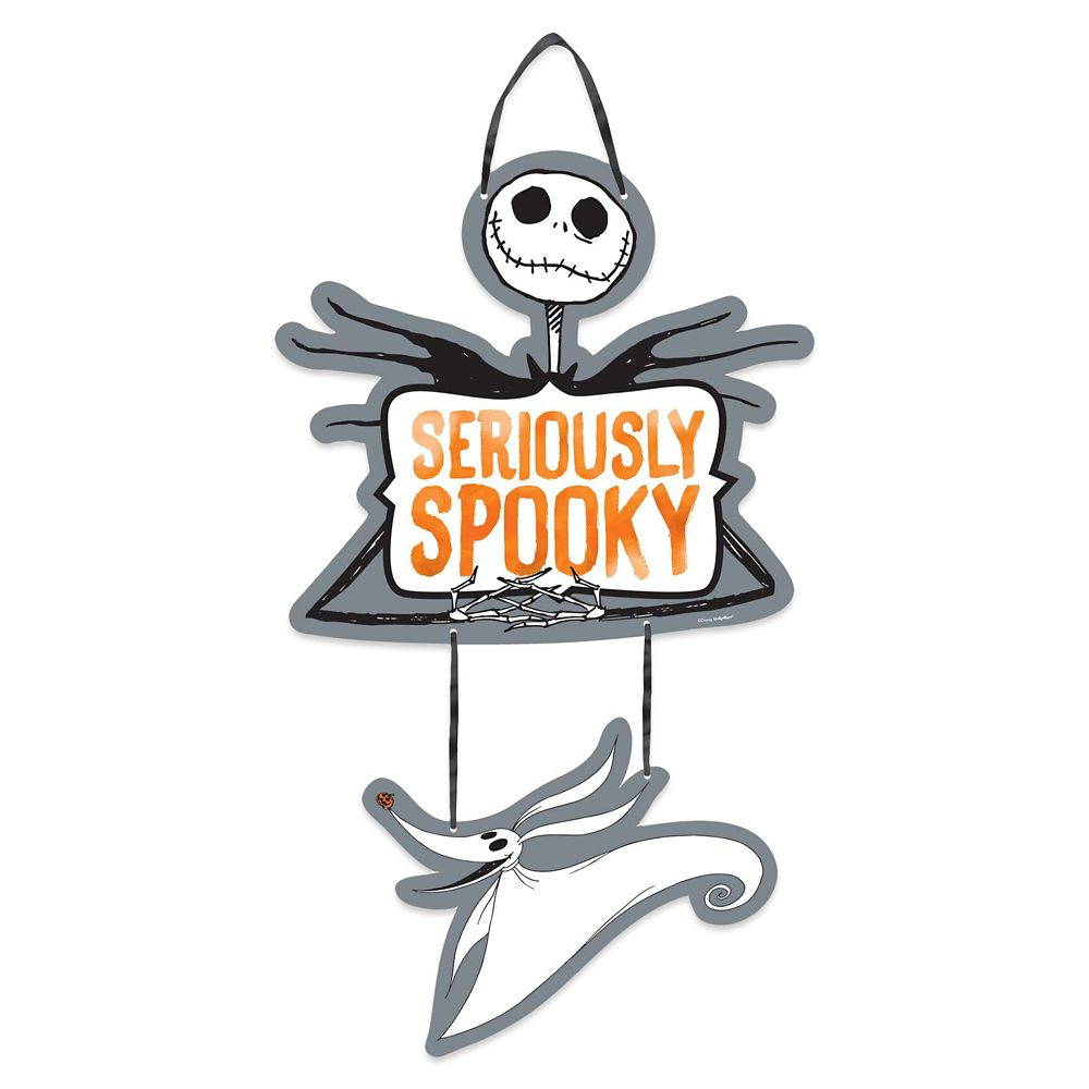 The Nightmare Before Christmas Halloween Sign