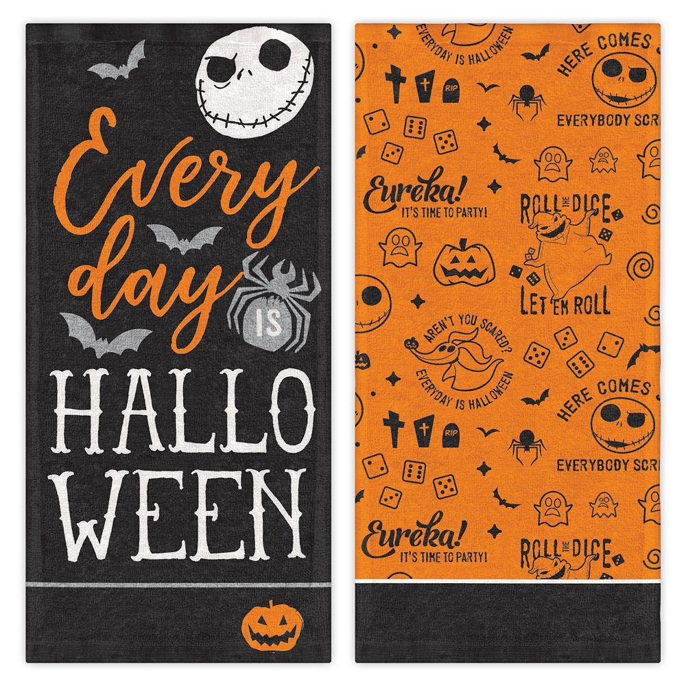 The Nightmare Before Christmas Halloween Kitchen Towel Set Official shopDisney