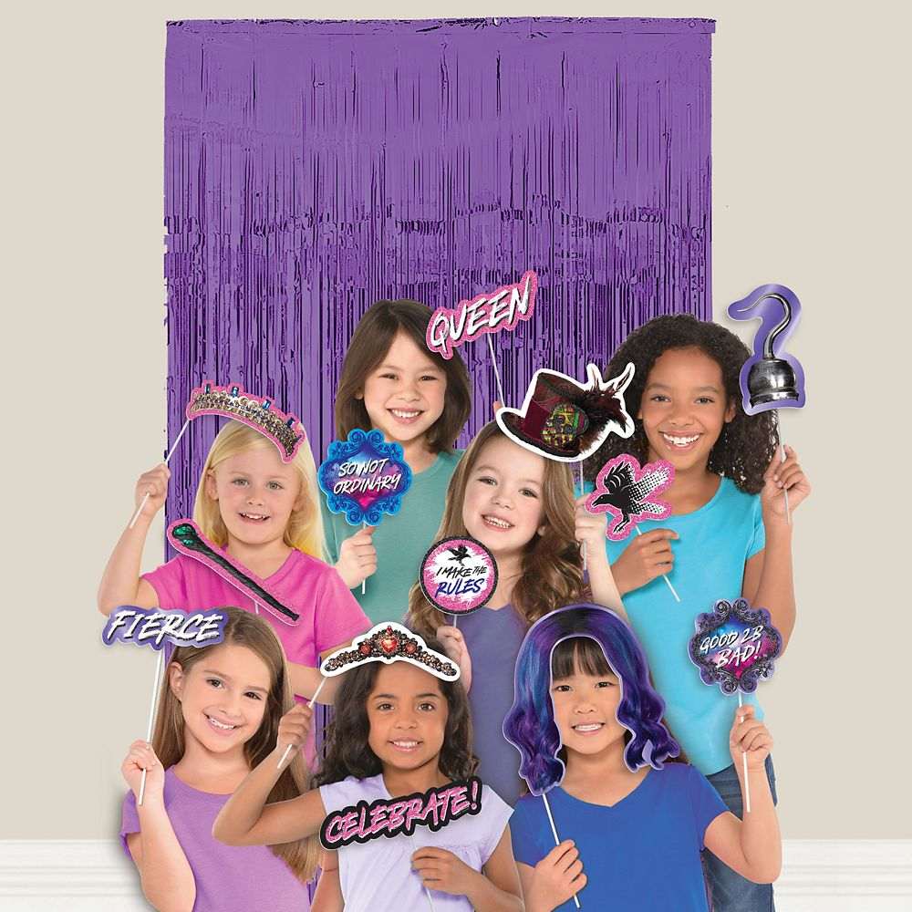 Descendants 3 Scene Setter with Photo Booth Props Official shopDisney