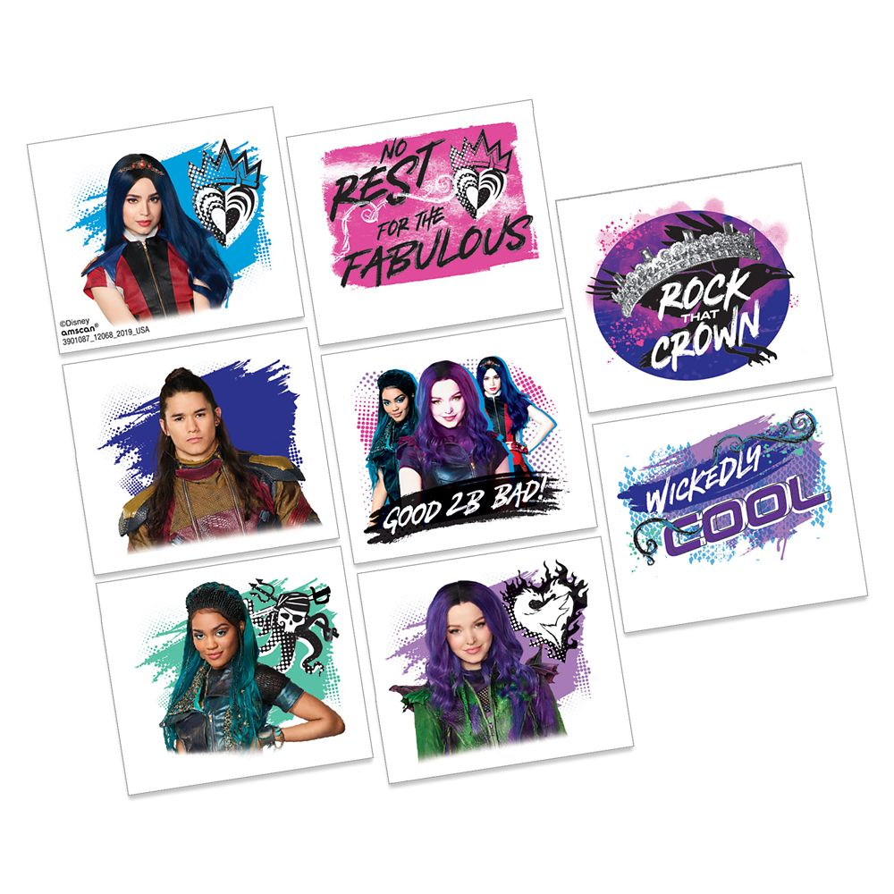 Descendants 3 Tattoos - 2-Pack